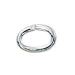 Sterling Silver Heavy (19ga) Oval Open Jump Rings 4x6mm (25) replaced with ri-sh00j46-50