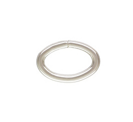 Sterling Silver Heavy Open Oval Jump Ring.  16ga 9x6mm  (20) *new* Click & Lock USA