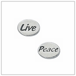 Sterling Silver Message Beads