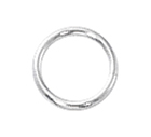 Sterling Silver Open Jump Rings 6mm (50) sold out