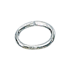 Sterling Silver Oval Open Jump Rings 4x6mm 19GA, 25 pieces
