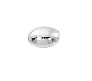 Sterling Silver Oval Spacers 3x4.5mm (50)