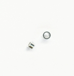 Sterling Silver Tube Crimp Beads 2x1mm (100pcs)