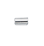 Sterling Silver Tube Crimp Beads 2x3mm (50 pcs)