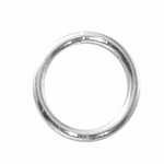 Sterling Silver Heavy Open Jump Rings 10mm 16ga (10)