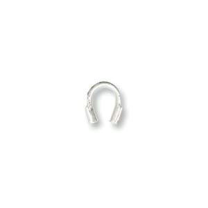 Sterling Silver Wire Protectors .045 (25pcs)