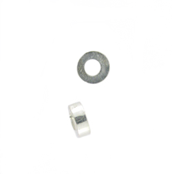 Sterling Silver 4mm Heishi Spacer Disc Bead 22, Closeout, 25 pieces