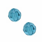 Swarovski 5000 6mm Indicolite Round Crystal Beads (24pk) *new*