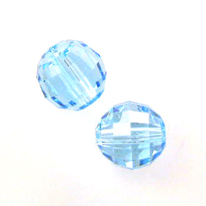 Swarovski 5005 Chessboard 8mm Aquamarine (6)