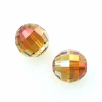 Swarovski 5005 Chessboard 8mm Crystal Copper (6)