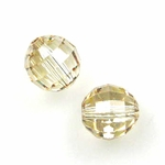 Swarovski 5005 Chessboard 8mm Crystal Golden Shadow (6)