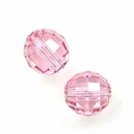 Swarovski 5005 Chessboard 8mm Light Rose (6)