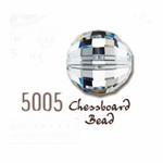 Swarovski 5005 Chessboard Crystal Beads