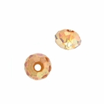 Swarovski 5040 6mm Crystal Copper  Briolette Crystal Bead (24pk)