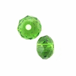Swarovski 5040 6mm Fern Green Briolette Crystal Bead (24pk)