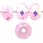 Swarovski 5040 6mm Light Rose AB  Briolette Crystal Bead (24pk)