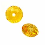 Swarovski 5040 6mm Sunflower  Briolette Crystal Bead (24pk)