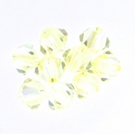 Swarovski 5328 4mm  bicone / xilion Crystal Lemon (48pk)