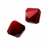 Swarovski 5301 4mm bicone / xilion  Dark Red Coral (48pk)