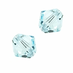 Swarovski 5301 4mm bicone / xilion  Light Azore
