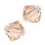 Swarovski 5301 4mm bicone / xilion  Light Peach (48)