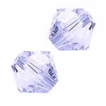 Swarovski 5328 4mm bicone / xilion  Light Tanzanite (48)
