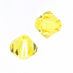 Swarovski 5301 6mm bicone / xilion  Light Topaz (24pk)