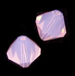 Swarovski 5301 6mm bicone / xilion  Rose Water Opal