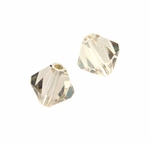 Swarovski 5328 4mm bicone / xilion  Crystal Golden Shadow (48)