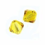 Swarovski 5328 6mm bicone / xilion  Sunflower (24pk)