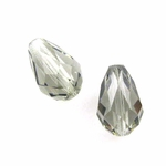 Swarovski 5500 Black Diamond Drops 9x6mm (4pk)