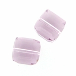 Swarovski 5601 8mm cube  Light Amethyst (6)