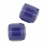 Swarovski 5601 8mm cube  Purple Velvet (6)