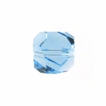 Swarovski 5603  Graphic Cube 6mm Aquamarine Color Beads (12pk)