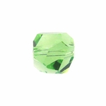 Swarovski 5603  Graphic Cube 6mm Peridot Color Beads (12pk)