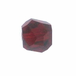 Swarovski 5603  Graphic Cube 8mm Siam Color Beads (6pk)