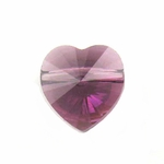 Swarovski 5742 Heart Beads 8mm Amethyst