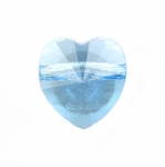 Swarovski 5742 Heart Beads 8mm Aquamarine