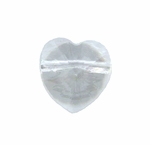 Swarovski 5742 Heart Beads 8mm Crystal
