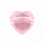 Swarovski 5742 Heart Beads 8mm Light Rose