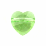 Swarovski 5742 Heart Beads 8mm Peridot
