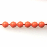 Swarovski 5810 4mm Round Crystal Pearl  Coral Pearl Beads (100)