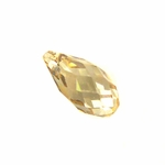 Swarovski 6010 Crystal Drop Briolette Pendant Crystal Golden Shadow 11x5.5mm