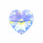 Swarovski 6202 14mm Crystal Heart Pendant  Crystal AB