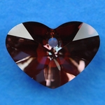 Swarovski 6260 Crazy 4 U Heart 17mm Red Magma