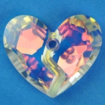 Swarovski 6263 Forever 1 Crystal Heart Pendant on sale