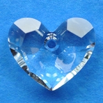 Swarovski 6264 Truly In Love Heart Pendant 18mm Crystal