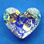 Swarovski 6264 Truly In Love Heart Pendants