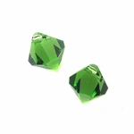 Swarovski 6301 Bicone Pendant Top-Drilled 6mm Bicone - Fern Green (24)