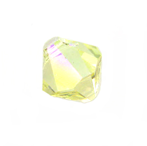 Swarovski 6301 Bicone Pendant Top-Drilled 6mm Bicone - Jonquil AB (24)